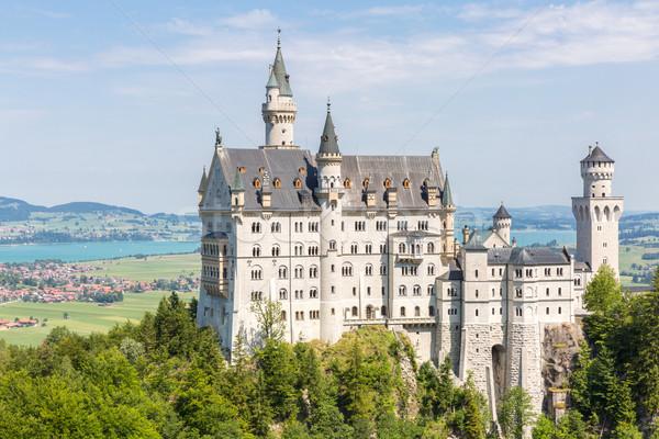 Castelo de Neuschwanstein belo verão ver arquitetura Foto stock © vichie81
