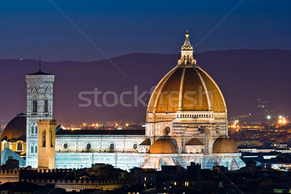 Cathedral of Florence duomo Stock photo © vichie81