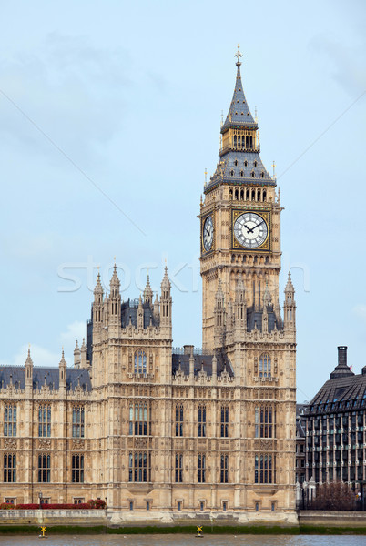 Photo stock: Big · Ben · panorama · maison · parlement · rivière · Londres