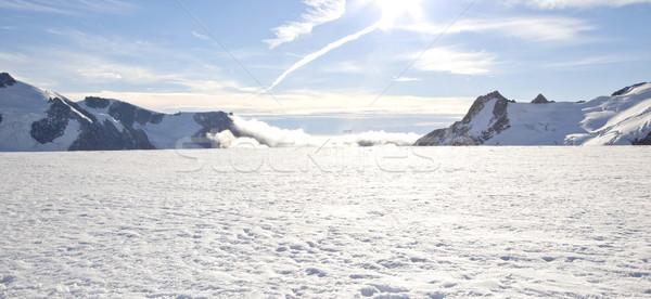 Winter landscape Panorama Stock photo © vichie81