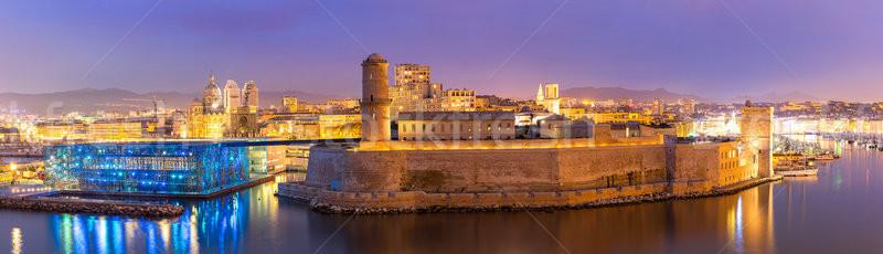 Marseille France saint château cathédrale la Photo stock © vichie81