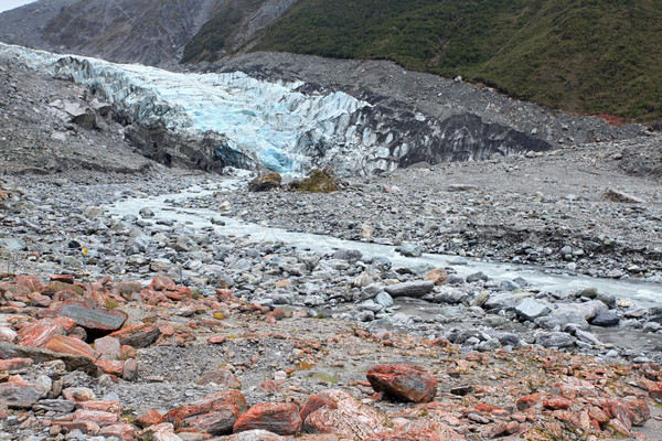 Fox Glacier New Zealand Stock photo © vichie81