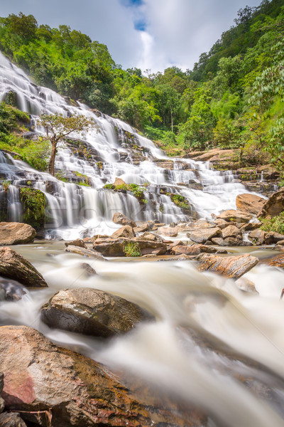 Maeya Waterfall Thailand Stock photo © vichie81