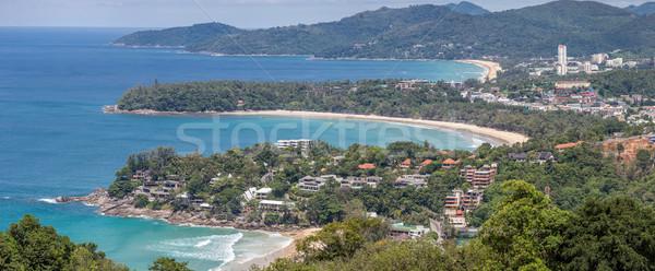 Panorama Karon View Point Stock photo © vichie81