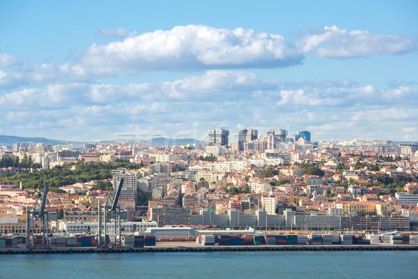 Lisbon cityscape Portugal Stock photo © vichie81