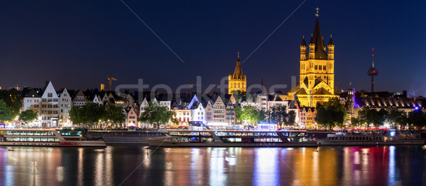 Cologne Germany Panorama Stock photo © vichie81