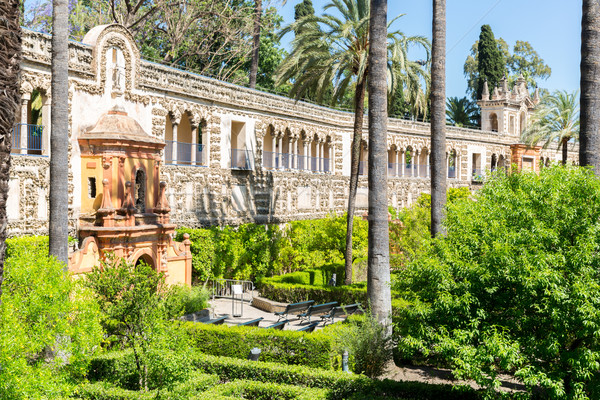 Seville Alcazar Spain Stock photo © vichie81