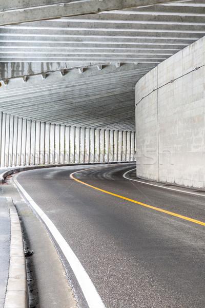トンネル 山 インテリア 都市 道路 光 ストックフォト © vichie81