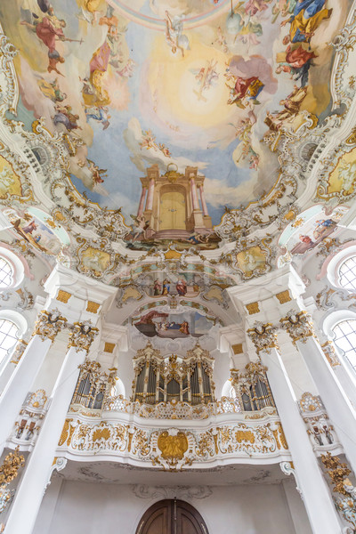 Interior peregrinação igreja Alemanha céu viajar Foto stock © vichie81