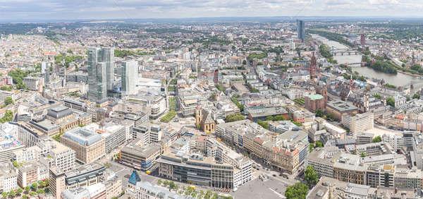 основной Небоскребы Панорама бизнеса Сток-фото © vichie81