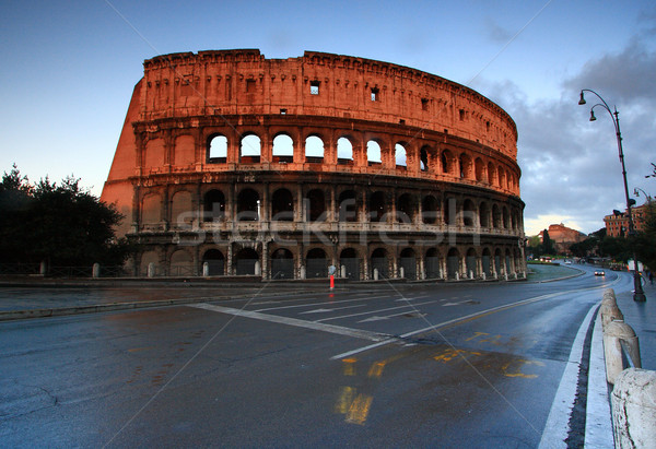 Colosseum Rome Italy Stock photo © vichie81