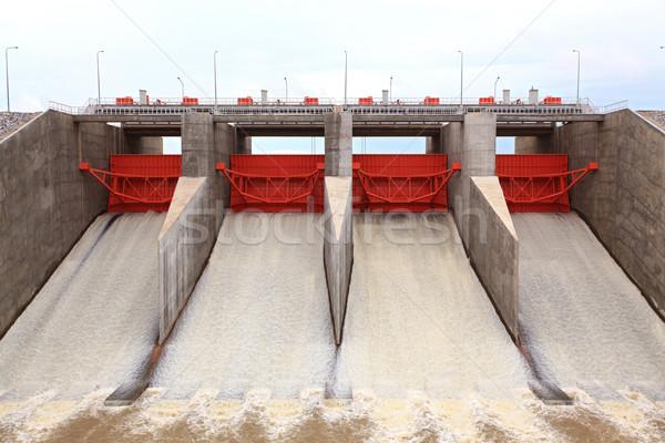 water gates dam Stock photo © vichie81