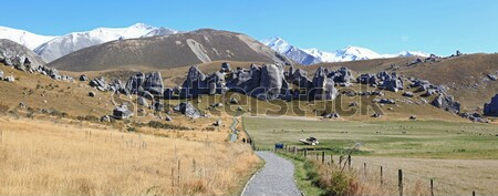 castle hill New Zealand Stock photo © vichie81