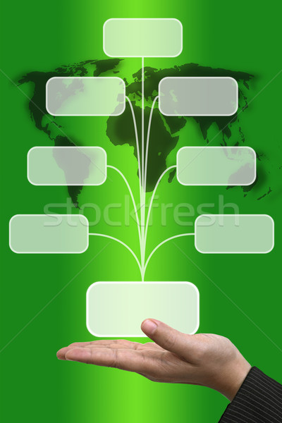 Input Screen Button Interface Stock photo © vichie81