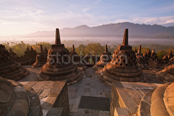 Borobudur Temple Indonesia Stock photo © vichie81