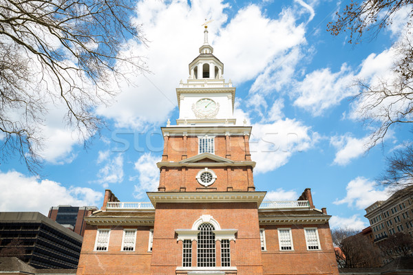 Independence Hall Philadelphia Stock photo © vichie81