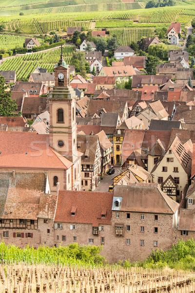 Riquewihr Alsace France Stock photo © vichie81