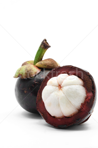 peel mangosteen Stock photo © vichie81