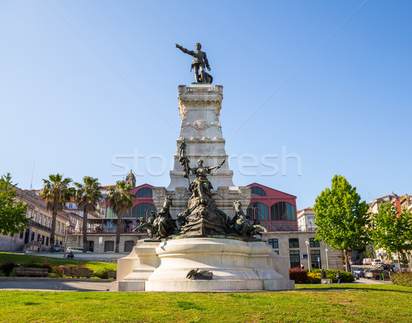 Henry monument Porto Stock photo © vichie81