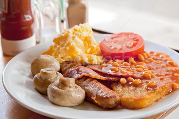 English Breakfast Stock photo © vichie81
