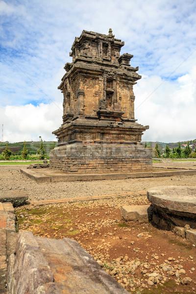 Complejo templo Indonesia meseta parque central Foto stock © vichie81