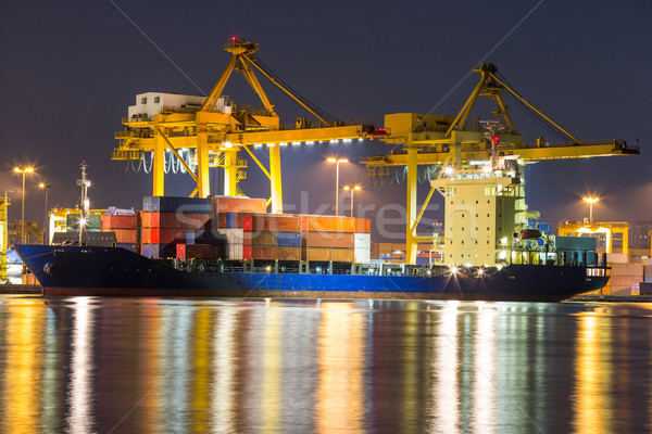 freight ship Stock photo © vichie81