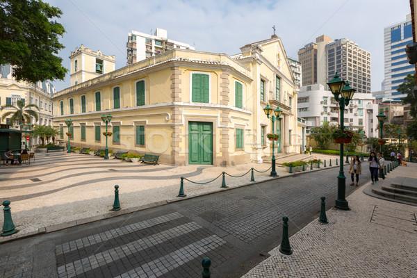st. augustine Church Macau Stock photo © vichie81