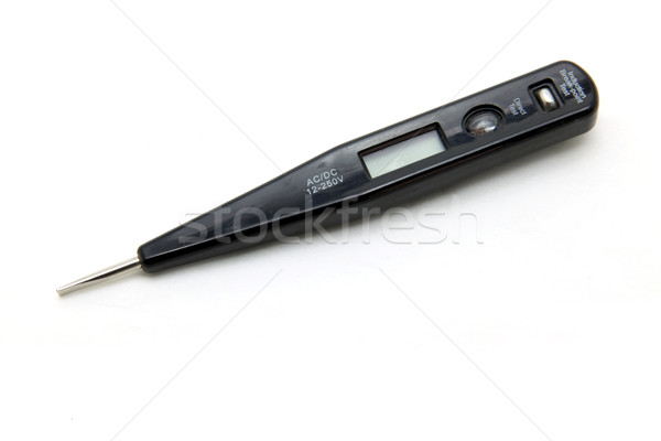 isolated digital voltage tester Stock photo © vichie81