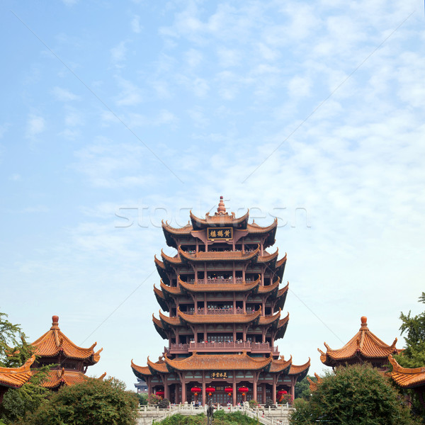 Yellow Crane Tower Wuhan China Stock photo © vichie81