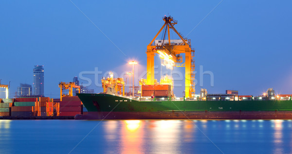 logistic background Stock photo © vichie81