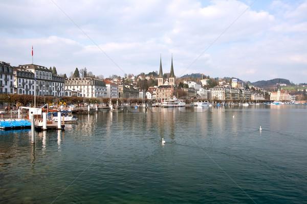 Lucern Lake, Switzerland Stock photo © vichie81