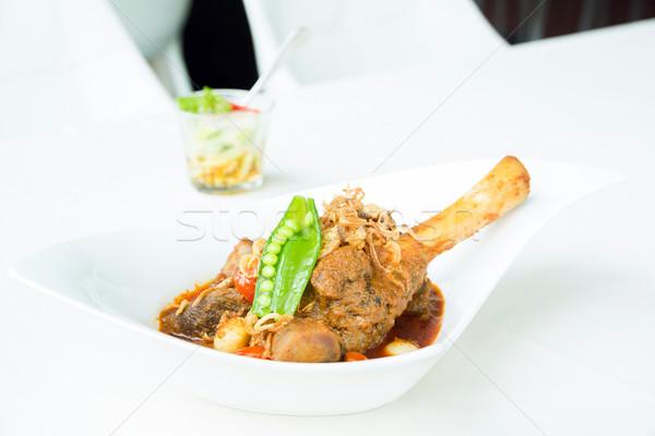 Lamb curry Stock photo © vichie81