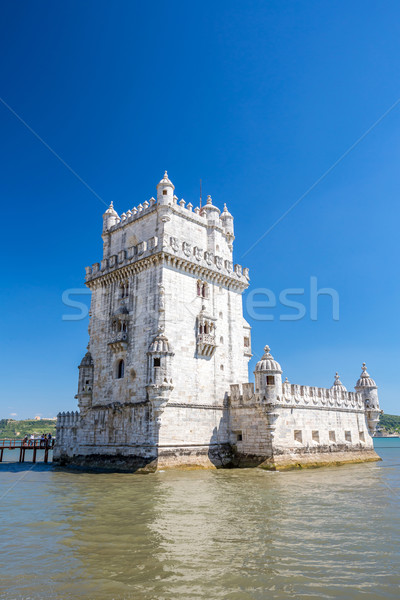 Tower of Belem Lisbon Stock photo © vichie81