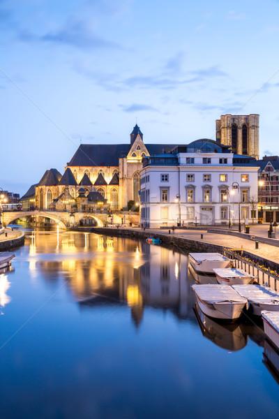 Ghent Belgium. Stock photo © vichie81