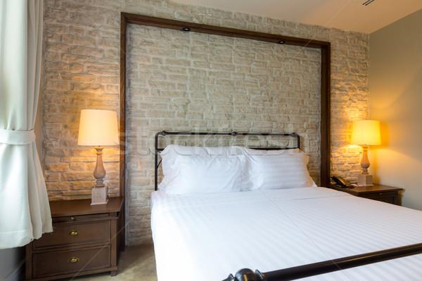 master bedroom Stock photo © vichie81