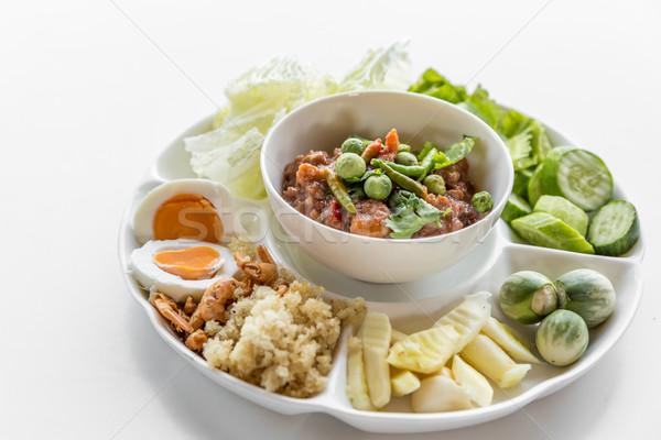 Thai chili paste Stock photo © vichie81