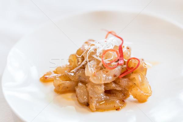 медуз пряный Салат китайский морепродуктов продовольствие Сток-фото © vichie81
