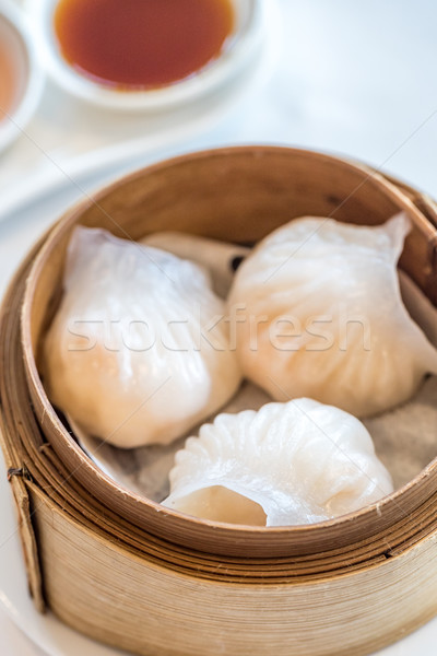 dim sum Hagao Stock photo © vichie81