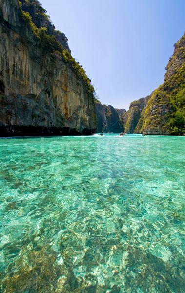 Phi Phi Island Phuket Andaman Thailand Stock photo © vichie81