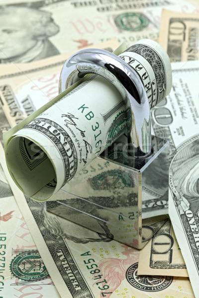 Cash Saving Insurance Concept Stock photo © vichie81