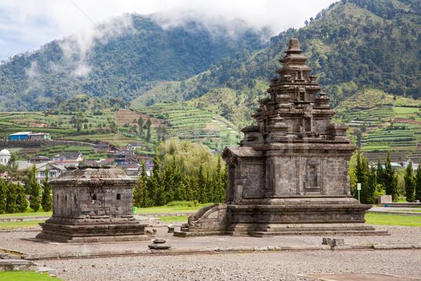 Fennsík templom Indonézia összetett park központi Stock fotó © vichie81