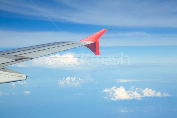 Aircraft wing Stock photo © vichie81