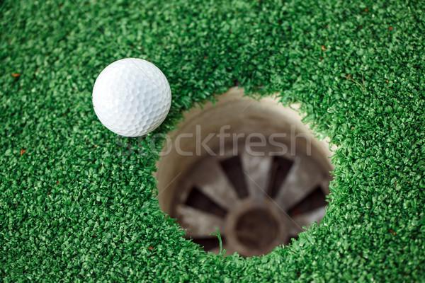Сток-фото: мяч · для · гольфа · губа · Кубок · бизнеса · спорт · клуба