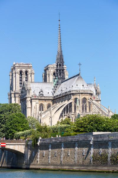 Cathedral Notre Dame Paris Stock photo © vichie81