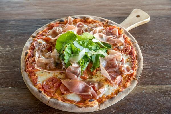 pizza parma ham Stock photo © vichie81