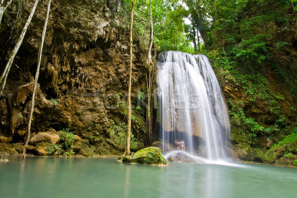 tropical falls Stock photo © vichie81