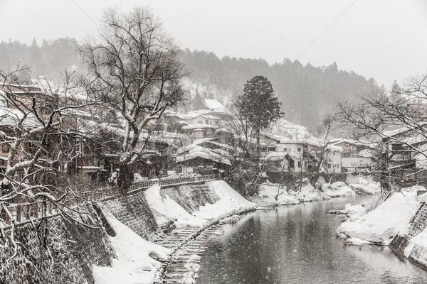 Takayama Winter Stock photo © vichie81