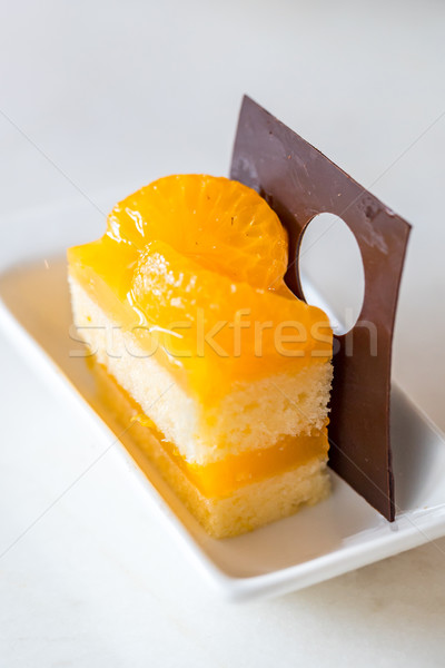 orange cake Stock photo © vichie81