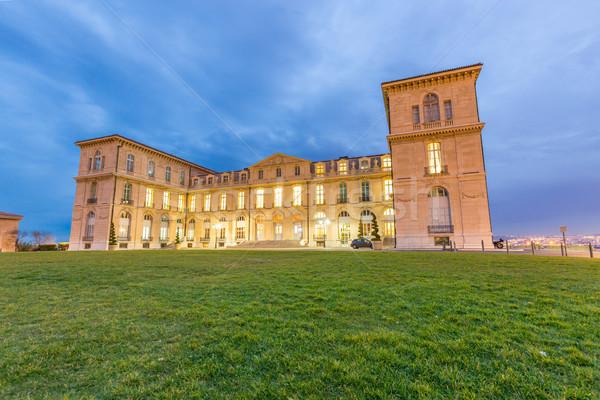 Marseille Palais Pharo Stock photo © vichie81
