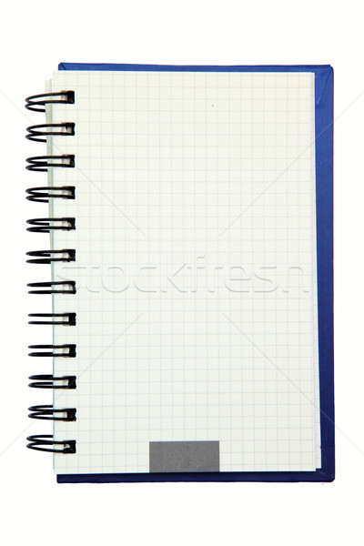 isolated ring binding graph book Stock photo © vichie81